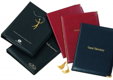 Bonded Leather Guest Room Folders